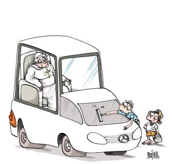 Caricatura de Alfredo Martirena