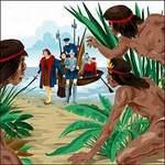 llegada de Colón a América