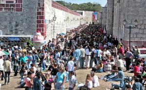 Fortaleza de La Cabaña, Feria del Internacional del Libro de La Habana