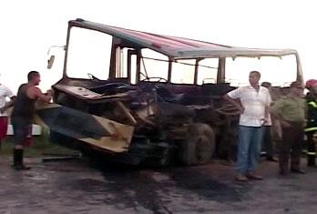 Trágico accidente en Sagua la Grande, Villa Clara.