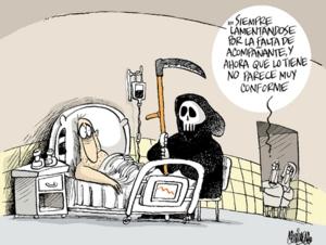 Caricatura de Martirena