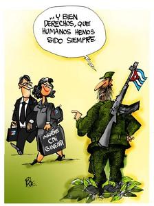 caricatura de Pedro Méndez, director de Melaíto