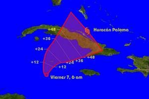 huracán Paloma