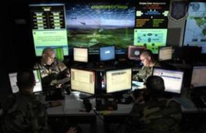 Estación del Comando del Ciberespacio, de la Fuerza Aérea norteamericana, en Luisiana.