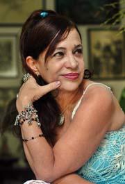 Zaida del Río, artista cubana de la plástica