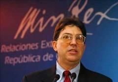 Ministro de Relaciones Exteriores de Cuba