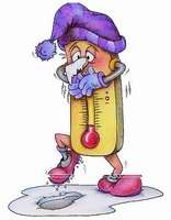 récord de bajas temperaturas