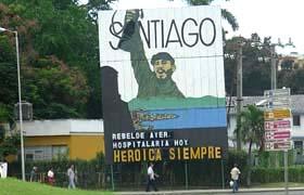 cartel de Santiago de Cuba, Ciudad Heroica