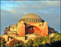 Sobre siete colinas se erigió Constantinopla, la famosa ciudad turca.