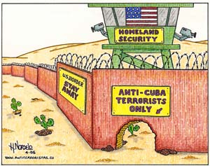 Caricatura de Gerardo Hernández Nordelo