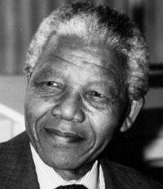 Nelson Mandela, líder sudafricano