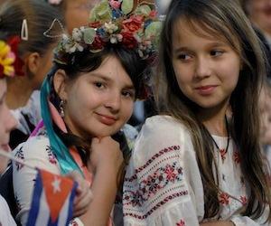 Niños de Chernobil en Cuba