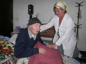 René Cadima, el fotógrafo del Che, y la enfermera cubana Danny Teresa Urra