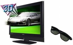 televisión tridimensional