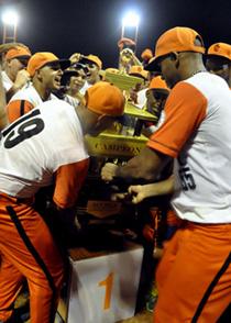 Los Leopardos naranjas se muestran felices con el triunfo