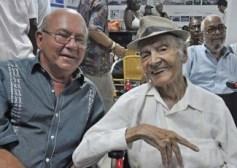 Miguel Barnet con Luis Carbonell, el acuarelista de la poesía antillana