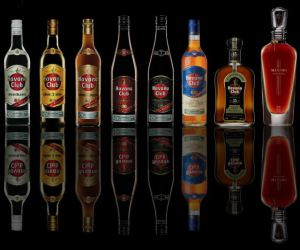 botellas de Havana Club