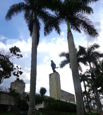 El Complejo Escultórico Comandante Ernesto Che Guevara, visitado diariamente por cubanos y extranjeros.
