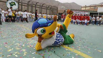 Fuleco, mascota del Mundial de Fútbol Brasil 2014
