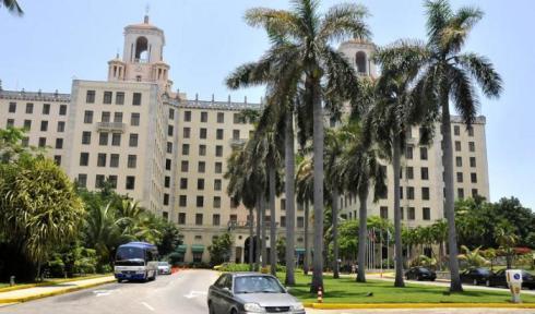 El Hotel Nacional de Cuba es una joya de la hotelería cubana, que trasunta cubanía, identidad, tradición y cultura al visitante. Foto: Alberto Borrego