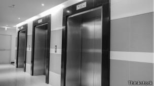 El principal impedimento para construir edificios de más de 1000 m son los ascensores.