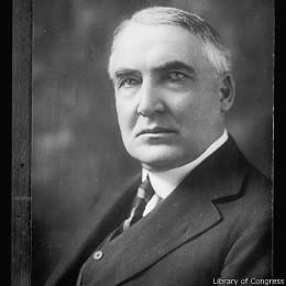 Warren Harding fue presidente entre 1921 y 1923.