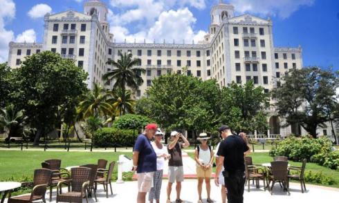 El Hotel Nacional de Cuba es una de las atracciones turísticas de La Habana.