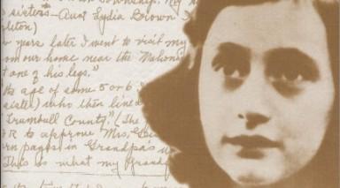 El diario de Ana Frank, escrito por la niña judía.