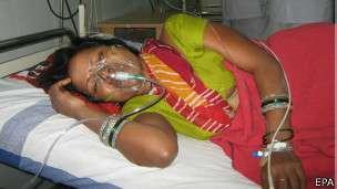 La campaña de esterilización en India solo ofrecía incentivos a las mujeres.