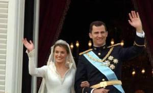 Felipe VI: una boda morganática.