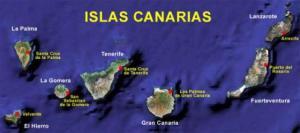 En el Océano Atlántico comprobaremos que Canarias, comunidad autónoma de España, está integrada por un conjunto de siete islas Foto: Internet