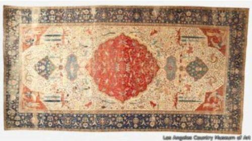 """""""Alfombra de la Coronación"""", 1520-30."""